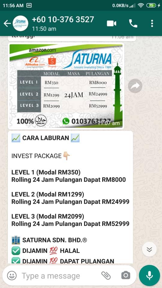 Whatsapp Fraud Alert Screenshot 3