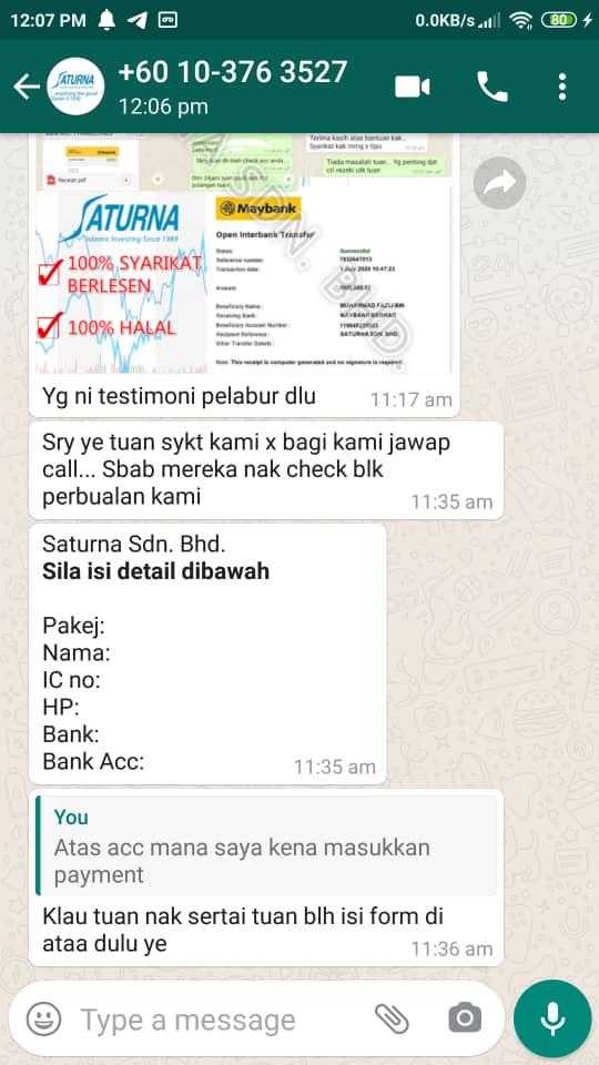 Whatsapp Fraud Alert Screenshot 4